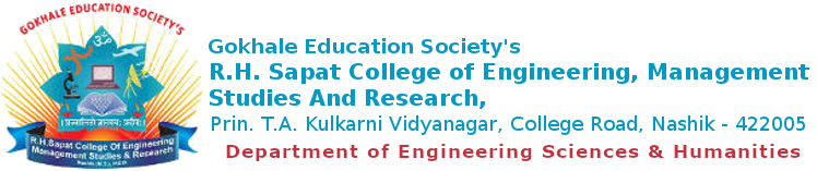 R. H. Sapat College Of Engineering, Management Studies And Research